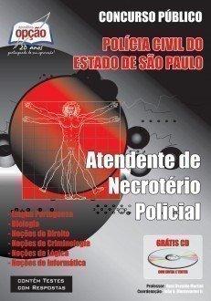 Apostila Atendente De Necrotério Policial - Concurso Polícia Civil / SP (atend...