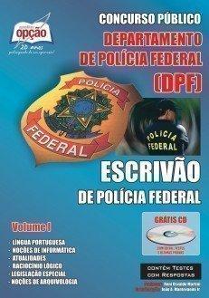 Apostila Escrivão De Polícia Federal - Volume I - Concurso Polícia Federal (e...