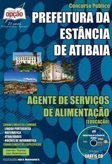 AGENTE DE SERVIÇOS DE ALIMENTAÇÃO (EDUCAÇÃO)