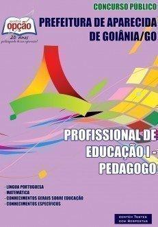 Apostila Profissional De Educação I - Pedagogo - Concurso Prefeitura De Aparec...