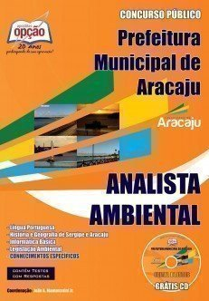 Apostila Analista Ambiental - Concurso Prefeitura De Aracaju / Se...