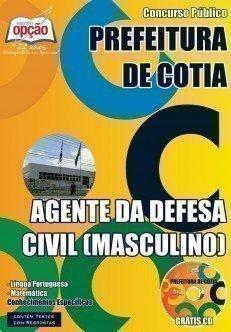 Apostila Concurso Cotia SP Agente da Defesa Civil