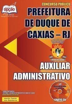 Apostila SME Duque de Caxias - Auxiliar Administrativo