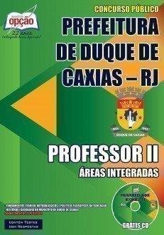 PROFESSOR II - ÁREAS INTEGRADAS
