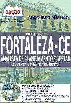 ANALISTA DE PLANEJAMENTO E GESTÃO (CONTEÚDO COMUM)