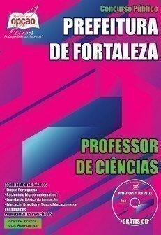 Apostila Prefeitura de Fortaleza PROFESSOR DE CIÊNCIAS.