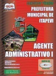 Apostila Agente Administrativo I - Concurso Prefeitura De Itapevi / SP...