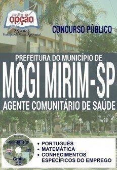 Apostila Prefeitura de Mogi Mirim AGENTE COMUNITÁRIO DE SAÚDE