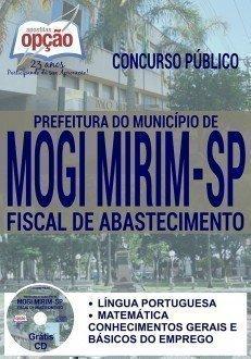 Apostila concurso Prefeitura de Mogi Mirim 2016 FISCAL DE ABASTECIMENTO