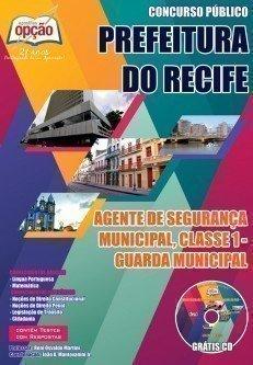AGENTE DE SEGURANÇA MUNICIPAL, CLASSE 1 - GUARDA MUNICIPAL