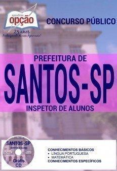 Apostila Prefeitura de Santos INSPETOR DE ALUNOS