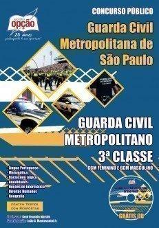 Apostila Guarda Civil Metropolitano - 3ª Classe - Concurso Prefeitura De São P...