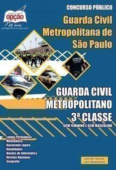 GUARDA CIVIL METROPOLITANO - 3ª CLASSE