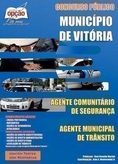 Apostila Agente Comunitário De Segurança E Agente Municipal De Trânsito - Con...