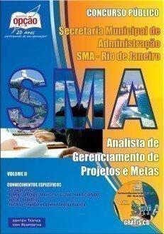 Apostila Analista De Gerenciamento De Projetos E Metas - Volume Ii - Concurso Pr...