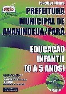 PROFESSOR DE EDUCAÇÃO INFANTIL (0 A 5 ANOS)