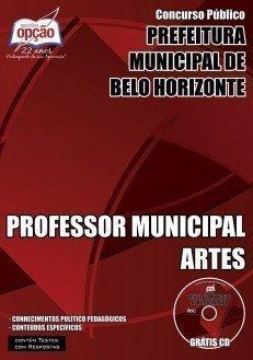 PROFESSOR MUNICIPAL ARTES
