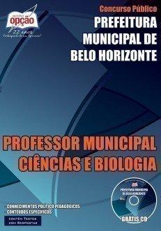 PROFESSOR MUNICIPAL CIÊNCIAS E BIOLOGIA