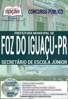 SECRETÁRIO DE ESCOLA JÚNIOR