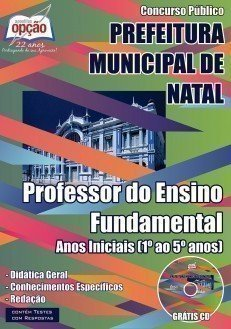 PROFESSOR DO ENSINO FUNDAMENTAL – ANOS INICIAIS (1º AO 5º ANOS)