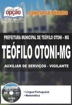 AUXILIAR DE SERVIÇOS - VIGILANTE