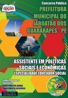 ASS EM POLÍTICAS SOCIAIS E ECONÔMICAS – ESP EDUCADOR SOCIAL