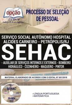 AUX. DE SER. INTERNOS E EXTERNOS, BOMBEIRO HIDRÁULICO, COZINHEIRO, MAQUEIRO E PINTOR