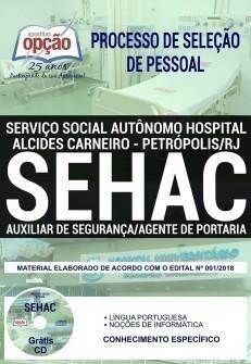 AUXILIAR DE SEGURANÇA/AGENTE DE PORTARIA