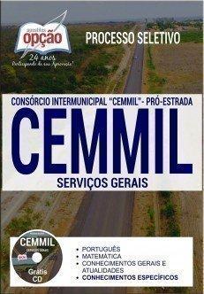 Apostila Processo Seletivo CEMMIL 2017 - SERVIÇOS GERAIS