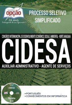 Apostila da CIDESA Norte Araguaia AUXILIAR ADMINISTRATIVO E AGENTE DE SERVIÇOS