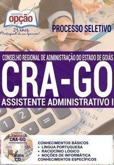 Apostila Concurso CRA/Goiás 2016, Assistente Administrativo,