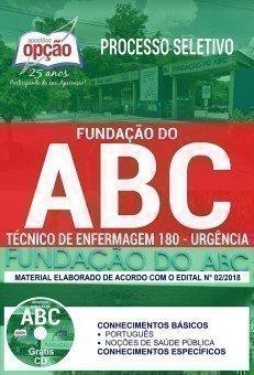 TÉCNICO DE ENFERMAGEM 180 - URGÊNCIA