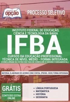 CURSOS DA EDUCAÇÃO PROFISSIONAL - FORMA INTEGRADA