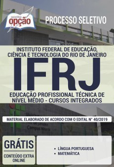 EDUCAÇÃO PROFISSIONAL TÉCNICA DE NÍVEL MÉDIO - CURSOS INTEGRADOS