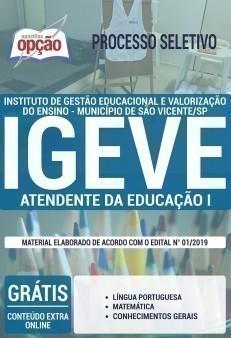 ATENDENTE DA EDUCAÇÃO I