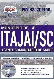 Apostila Processo Seletivo Município de Itajaí 2018 | AGENTE COMUNITÁRIO DE SAÚDE