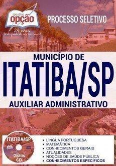 Apostila Processo Seletivo Município de Itatiba 2017 | AUXILIAR ADMINISTRATIVO