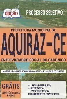 ENTREVISTADOR SOCIAL DO CADÚNICO