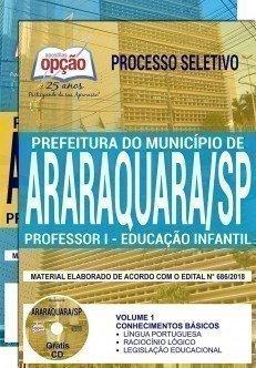 PROFESSOR I - EDUCAÇÃO INFANTIL