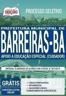 APOIO A EDUCAÇÃO ESPECIAL (CUIDADOR)