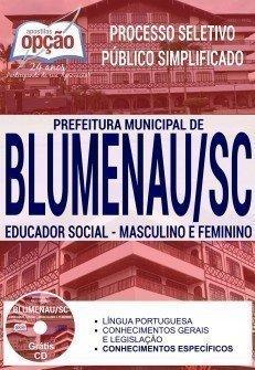 EDUCADOR SOCIAL - MASCULINO E FEMININO