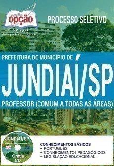 Apostila Prefeitura de Jundiaí (SP) PEB I - Professor de Educação Básica (COMUM A TODAS AS ÁREAS)