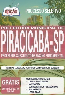 PROFESSOR SUBSTITUTO DE ENSINO FUNDAMENTAL