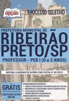 PROFESSOR - PEB I (0 A 3 ANOS)