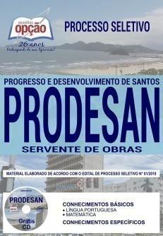 SERVENTE DE OBRAS