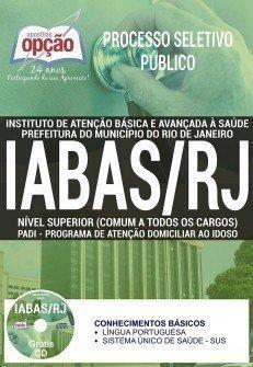 Apostila Processo Seletivo Público IABAS RJ 2017 | NÍVEL SUPERIOR (COMUM A TODOS OS CARGOS)