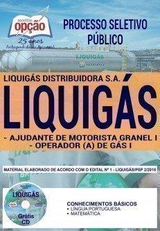 AJUDANTE DE MOTORISTA GRANEL I E OPERADOR (A) DE GÁS I