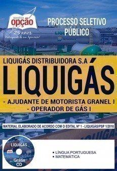 AJUDANTE DE MOTORISTA GRANEL I E OPERADOR DE GÁS I