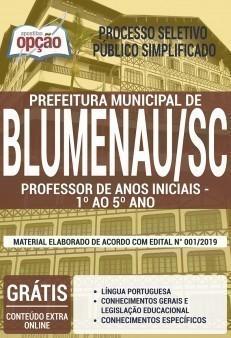 PROFESSOR DE ANOS INICIAIS - 1° AO 5° ANO