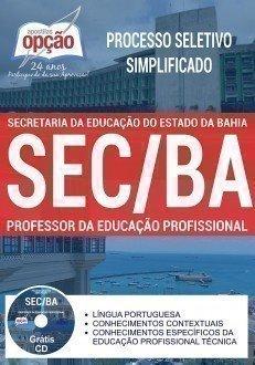 PROFESSOR DE EDUCAÇÃO PROFISSIONAL